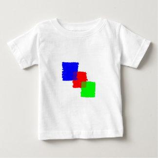 RGB Paintbrush Baby T-Shirt