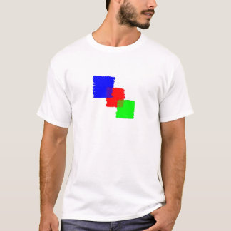 RGB Paintbrush T-Shirt