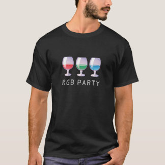 RGB party T-Shirt