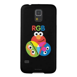 RGB Sesame Street Case For Galaxy S5