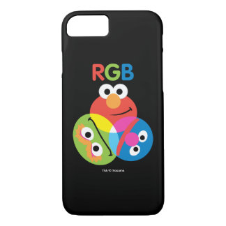 RGB Sesame Street iPhone 8/7 Case