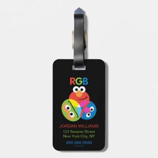 RGB Sesame Street Luggage Tag