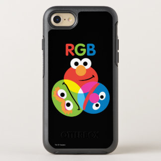 RGB Sesame Street OtterBox Symmetry iPhone 8/7 Case