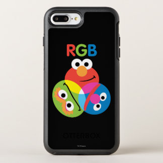 RGB Sesame Street OtterBox Symmetry iPhone 8 Plus/7 Plus Case