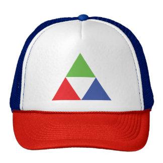 RGB Triangle Designer Web Design Love Cap