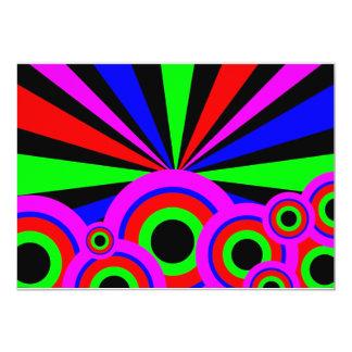RGB Wallpaper 13 Cm X 18 Cm Invitation Card