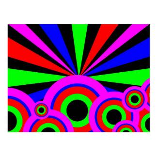 RGB Wallpaper Postcard