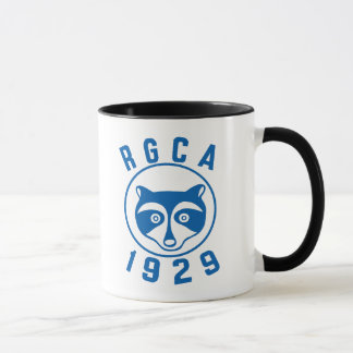 RGCA Blue logo mug