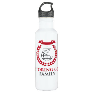 RGF 24oz White Steel Water Bottle