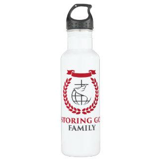 RGF 24oz White Steel Water Bottle 710 Ml Water Bottle