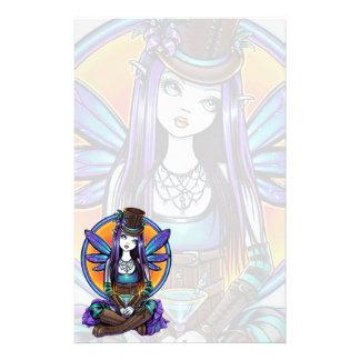 """Rhapsody"" Gothic Absinthe Fairy Art Stationery"