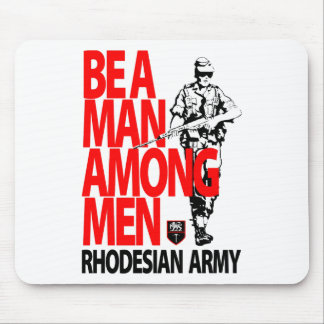 Rhdesian Army Recruiting Poster Mouse Pads