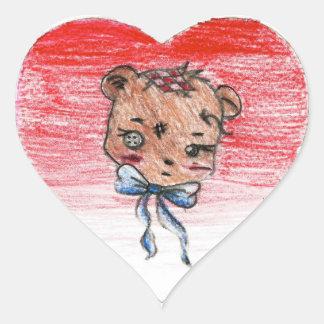 Rhea: Heart Sticker
