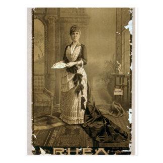 Rhea Retro Theater Post Card