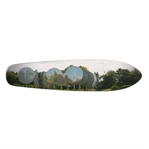 Rheinaue Park in Bonn Custom Skate Board