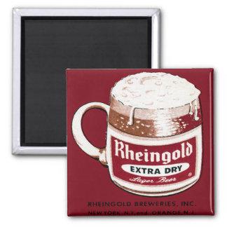 Rheingold Extra Dry Lager Beer Fridge Magnet