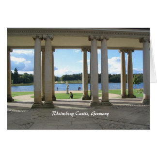 Rheinsberg Castle, Germany Card