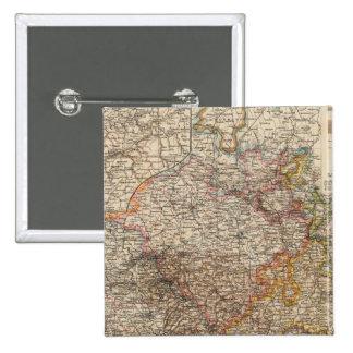 Rhenish Prussia, Westphalia, HesseNassau 15 Cm Square Badge