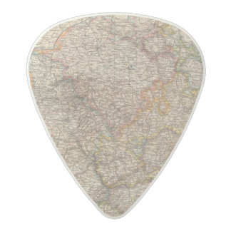 Rhenish Prussia, Westphalia, HesseNassau Acetal Guitar Pick
