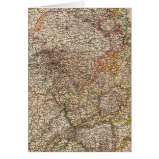 Rhenish Prussia, Westphalia, HesseNassau Card
