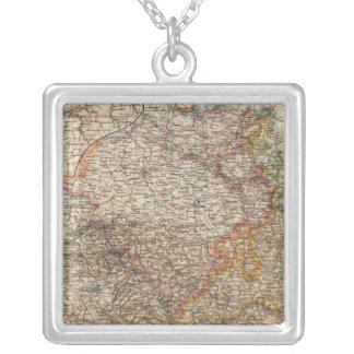 Rhenish Prussia, Westphalia, HesseNassau Silver Plated Necklace