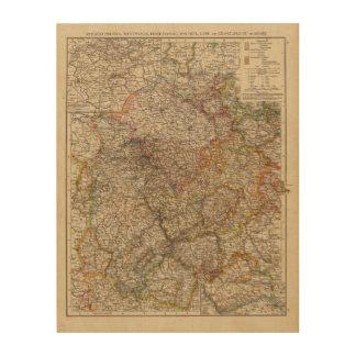 Rhenish Prussia, Westphalia, HesseNassau Wood Canvases