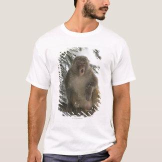 Rhesus Macaque monkey (Macaca mulatta) sitting T-Shirt