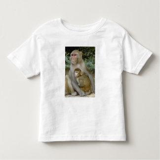 Rhesus Macaques Macaca mulatta) mother & baby Shirt