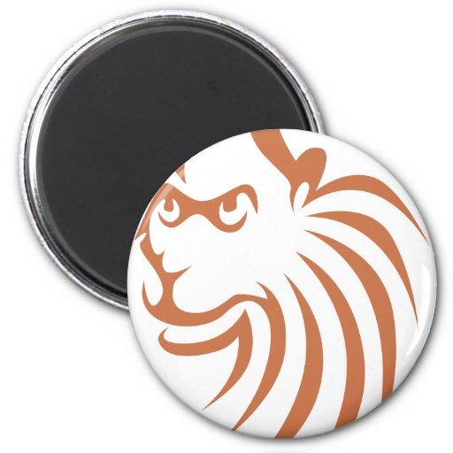 Rhesus Monkey in Swish Drawing Style Refrigerator Magnet