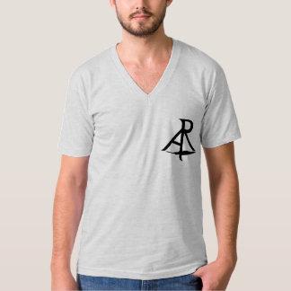 Rhetoric Askew Logo Jersey V-Neck Men's Shirt