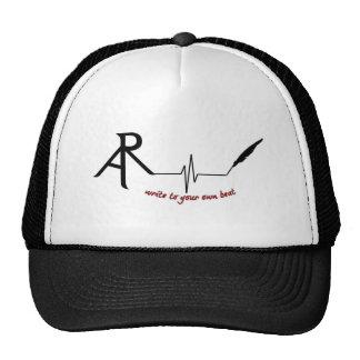 Rhetoric Askew Write to Your own beat logo trucker Cap