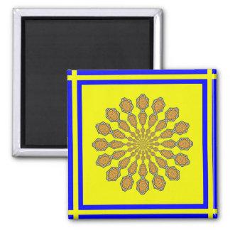 Rhett Headley Mandala magnet