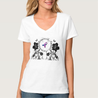 Rheumatoid Arthritis Awareness Butterfly TShirt