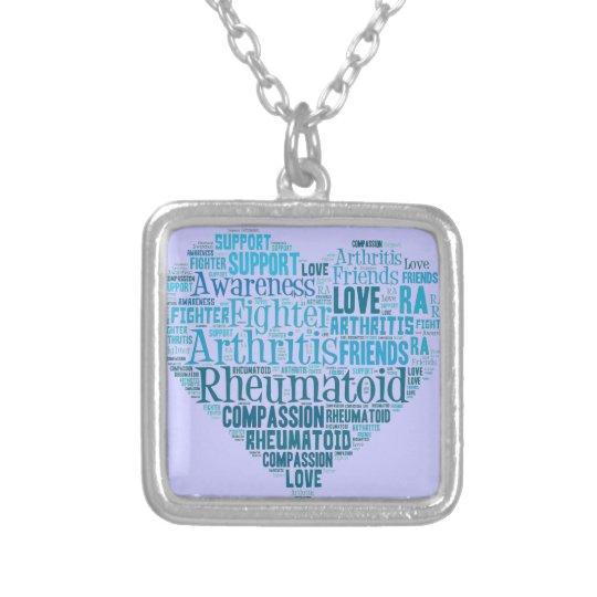 Rheumatoid Arthritis Awareness Necklace