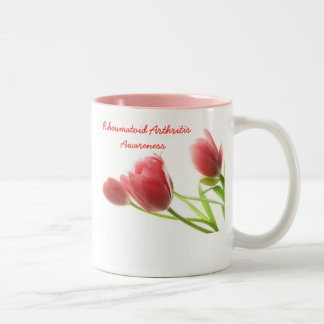 Rheumatoid Arthritis Awareness Two-Tone Mug
