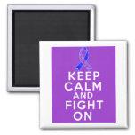 Rheumatoid Arthritis Keep Calm and Fight On Magnet