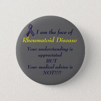 Rheumatoid Disease Button
