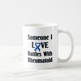 Rheumatoid RA Basic White Mug
