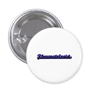 Rheumatologist Classic Job Design 3 Cm Round Badge