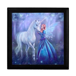 Rhiannon - Unicorn and Fairy Art Keepsake Box