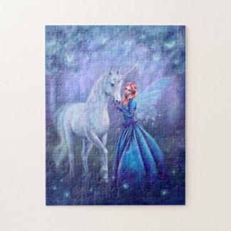 Rhiannon - Unicorn and Fairy Art Puzzle