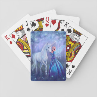 Rhiannon - Unicorn and Fairy Playing Cards
