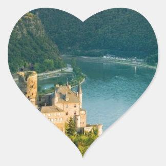 Rhine Germany  Angie. Heart Sticker