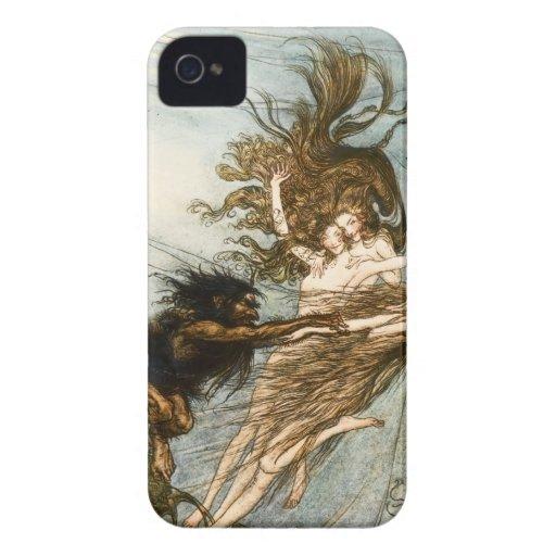 Rhine Maidens iPhone Case Case-Mate iPhone 4 Case