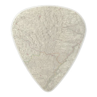 Rhine River Valley, France 2 Acetal Guitar Pick
