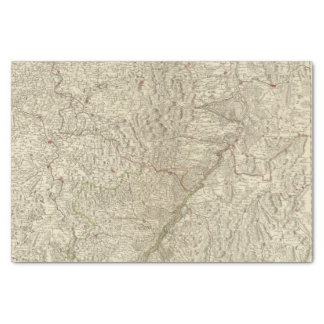 Rhine River Valley, France 2 Tissue Paper