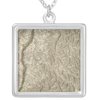 Rhine River Valley, France Silver Plated Necklace