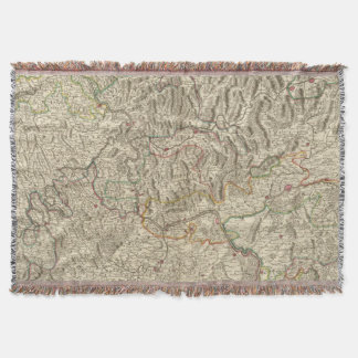 Rhine River Valley Throw Blanket