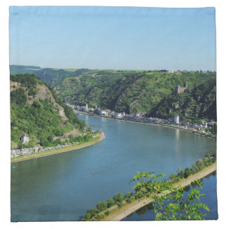 Rhine Valley to the Loreley Napkin