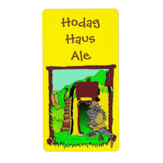 Rhinelander Hodag Haus Home Brew Beer Bottle Label